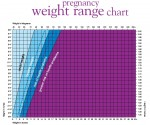 Small image of the Slimming World pregnancy weight range chart