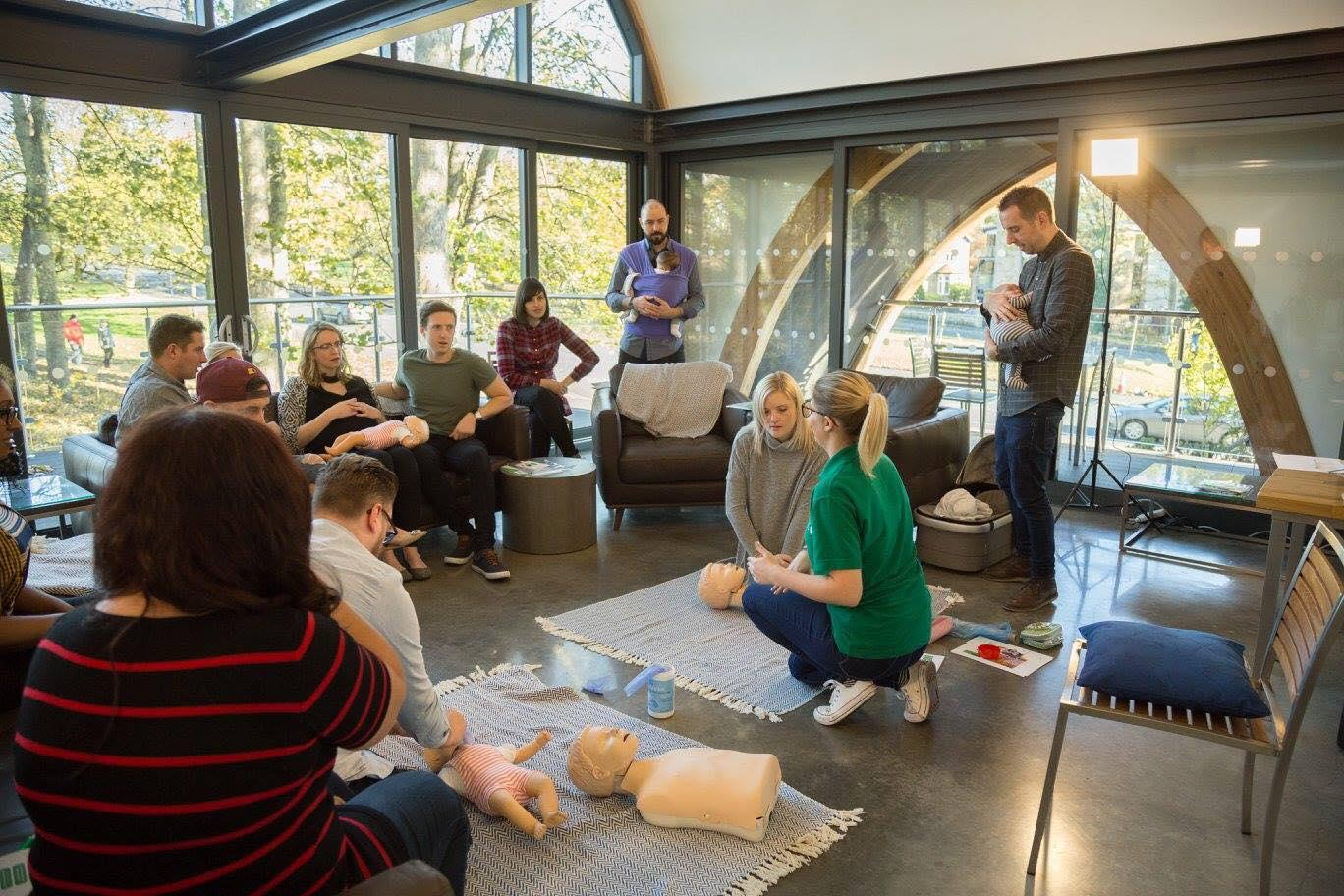 Baby First Aid Workshop with New Life Classes
